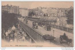 Paris Montmartre - Rue Caulaincourt - Pont - Cimetiere - Arrondissement: 18