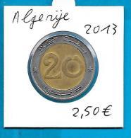 Algerije - 20 Dinars 2013 - Algérie