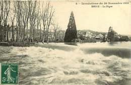 270917 - 19 BRIVE - Inondations Du 30 Novembre 1910 - La Digue - Brive La Gaillarde