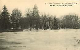 270917 - 19 BRIVE - Inondations Du 30 Novembre 1910 - La Corrèze Et La Guierle - Brive La Gaillarde