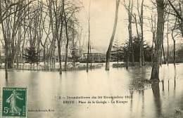 270917 - 19 BRIVE - Inondations Du 30 Novembre 1910 - Place De La Guierle - Le Kiosque - Brive La Gaillarde