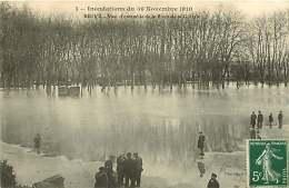 270917 - 19 BRIVE - Inondations Du 30 Novembre 1910 - Vue D'ensemble De La Place De La Guierle - Brive La Gaillarde