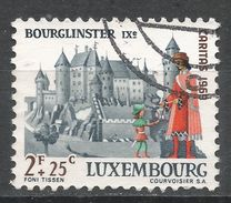 Luxembourg 1969. Scott #B272 (U) Bourglinster Castle - Luxembourg