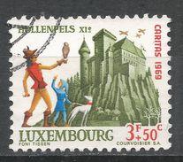 Luxembourg 1969. Scott #B273 (U) Hollenfels Castle - Luxembourg