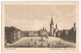 1927- Leitmeritz - Marktplatz I. Jahre 1840-45 - Repubblica Ceca