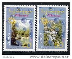 GEORGIA 2001 Europa Set Of 2  MNH / ** - Georgia