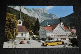 61- Im Obertoggenburg, Wildhaus Am Säntis, Hotel Sonne / Autos / Bus / Cars / Coches - SG St. Gallen
