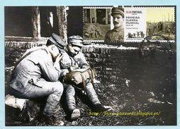 PORTUGAL IN WORLD WAR I WWI  MAXIMUM CARD -  PORTUGAL À LA PREMIÈRE GUERRE MONDIALE CARTE MAXIMUM - Maximumkaarten