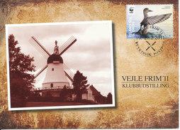 Iceland Postcard Stamp Exhibition Vejle Denmark 19-20/2-2011 With WWF Stamp - 1944-... Republik
