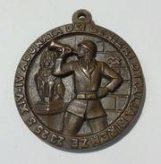 FIRENZE -Medaglia Del IV° Raduno Genieri (AN. XIV - 1936) OPUS: M. Moschi - Bronzo - 35mm - Italia