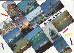Ships In Port - Seehafen Kiel.  Views.   Germany  # 07211 - Schiffe