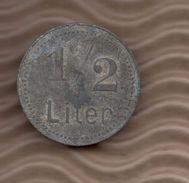 BIER TOKEN - 1/2 LITER (B) - Profesionales/De Sociedad