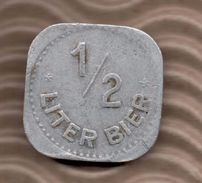 BIER TOKEN - 1/2 LITER BIER - Professionals/Firms