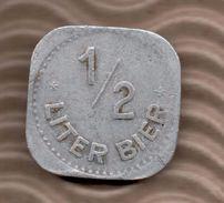 BIER TOKEN - 1/2 LITER BIER - Profesionales/De Sociedad
