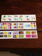 TIMBRES A STICKERS - Carnets