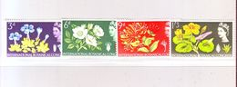 GRANDE-BRETAGNE YT N° 391/394. 10e Congrès International De Botanique, à Edimbourg  1964 - Neuf ** - 1952-.... (Elizabeth II)