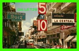 PANAMA CITY, PANAMA - CENTRAL 7th AVENUE - ANIMATED - H. S. CROCKER CO INC - - Panama