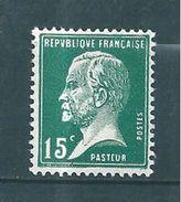 France Timbre De 1923/26 Type Pasteur  N°171  Neufs ** Parfait - 1922-26 Pasteur