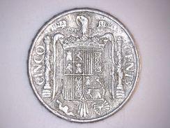 ESPAGNE 5 CENTIMOS 1945 - 5 Centimos