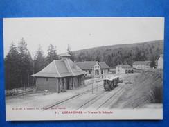VOSGES   88   GERARDMER  -  TRAIN     -  VUE SUR LA SCHLUCHT    TTB - Gerardmer