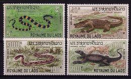 LD 11 - LAOS N° 167/70 Neufs** Thème Reptiles - Laos
