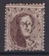 N° 14 A LP 83 CINEY - 1863-1864 Medallones (13/16)