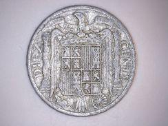 1945 - 10 CENTIMOS ESPAGNE - SPAIN - 10 Céntimos