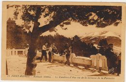 66.Font RomeuLe Cambre D'Aze Vu De La Terrasse De La Patinoire. - Autres Communes