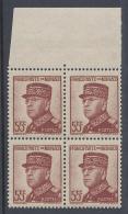 MONACO 1937 LOUIS II 55c Nº 159 - Neufs
