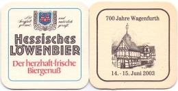 #D163-247 Viltje Hessisches Löwenbier - Sous-bocks