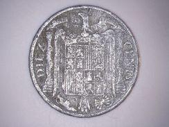 1953 - 10 CENTIMOS ESPAGNE - SPAIN - [ 4] 1939-1947 : Gouv. Nationaliste