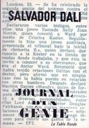 Salvador Dalí - Journal D'un Genie. Introduction Et Notes De Michel Deon. 1964 - Arte