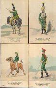 « Les Uniformes Du 1er Empire – Le 5e Chasseurs à Cheval » - Ed. Treuttel Et Wurtz, Strasbourg (vers 1911) - Uniformes