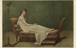 B 655 - Musée Du Louvre   Tableau De Madame Récamier  Par J.L.David - Museum