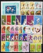 ROMANIA - 40 SPORT Postage Stamps (3) - Briefmarken