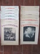 Lot De 14 REVUES L'ILLUSTRATION 1930s - Révolution De Cuba Belgique Yougoslavie - Journaux - Quotidiens