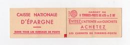 !!! PRIX FIXE : MARIANNE A LA NEF CARNET N°1234 C1 NEUF ** - Carnets
