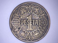 ESPAGNE - 1 PESETA 1944 - [ 4] 1939-1947 : Gouv. Nationaliste