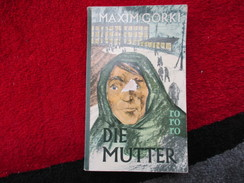 Die Mutter (Maxim Gorki) éditions Rororo De 1959 - Livres, BD, Revues