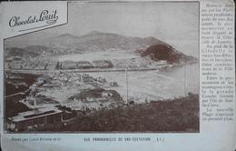CPA. - SAN SEBASTIAN Est Une Ville Du Nord De L'Espagne - Vue Panoramique - Edit. Par Chocolat LOUIT - BE - Guipúzcoa (San Sebastián)