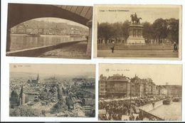 Liège - LOT 4 CP - Vues Dont Quai De La Batte Animé (3 Ont Circulé 1930,1932) - Liege