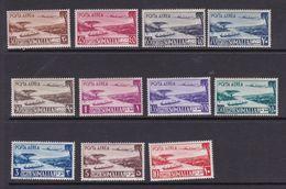Somalia S 1-11 1950 Definitives, Mint Hinged Set - Somalia (AFIS)