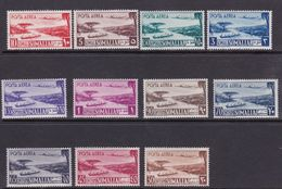 Somalia S 1-11 1950 Definitives, Mint Never Hinged Set - Somalia (AFIS)