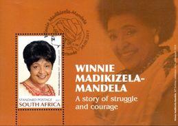 South Africa - 2017 Winnie Madikizela-Mandela MS (o) - Afrique Du Sud (1961-...)