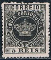 India, 1877, # 48 Dent. 12 1/2, MH - Portugiesisch-Indien