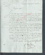 LETTRE DU CITOYEN AMI AN 8 DE PÉRONNE LIRE : - Manuscripts