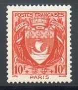 N° 537 Neuf** (Paris)  COTE= 3,40 Euros !!! - 1941-66 Coat Of Arms And Heraldry