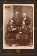 Cabinet Card / Photo De Cabinet / Cabinet Photo / Hommes / Men / Woman / Femme / Photo Tewis Michelsen / Vesoul - Photos