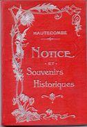 Brochure Toerisme Tourisme - Hautecombe Savoie - Notice Et Souvenirs Historiques - 1911 - Dépliants Touristiques