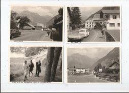 NASSEREITH TYROL AUTRICHE 4 PHOTOS TIREES D'UN ALBUM ANNEES 60  ( AUTOS COCCINELLES LAC ET ANIMATION) - Lugares